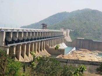 Rengali Dam Reservoir